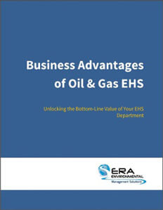 Business Advantages of Oil and Gas EHS.