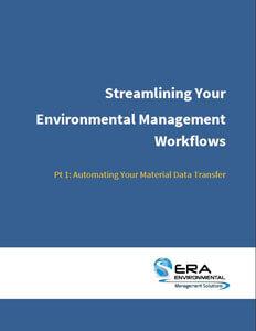 Streamlining Your Environmental Management Workflows.
