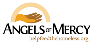 Logo of Angel of Mercy, a Montreal charity that helps the homeless.