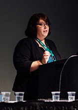 Photo of Gail Backus, EHS Manager for Power Service Products, Inc.