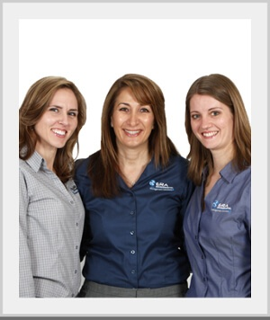ERA's lead environmental consultants, Erin Manitou and Laura Weinkam, and the CTO, Sarah Sajedi.