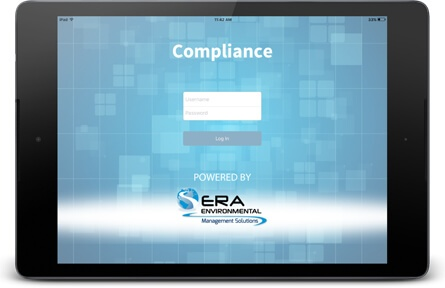 Get automated compliance alerts on ERA's compliance mobile app.