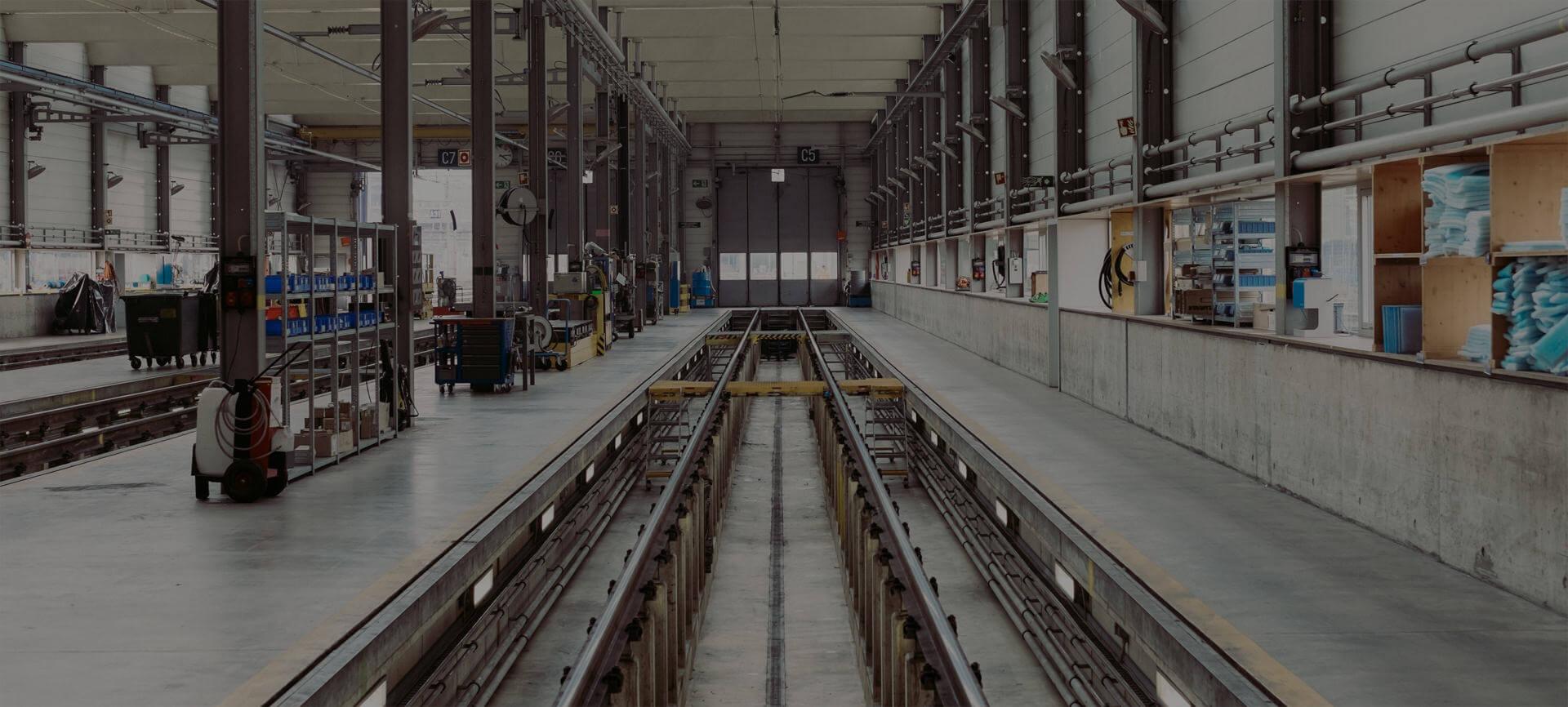 Organized general manufacturing workshop.