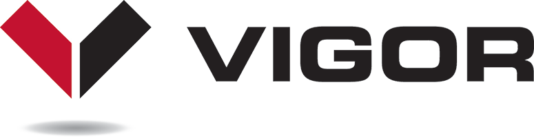 EHS client Vigor Industries logo.