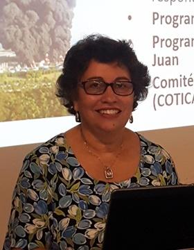 A picture of retired EPA TRI Inventory Coordinator (Region 2), Nora Lopez.