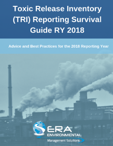 Toxic Release Inventory (TRI) Reporting Survival Guide 2018 cover image