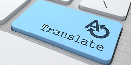 SDS translation button for SDS authoring software