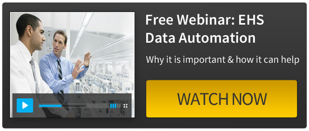 Watch our Webinar - EHS Data Automation: